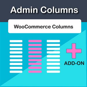 Admin Columns Pro WooCommerce Add-On