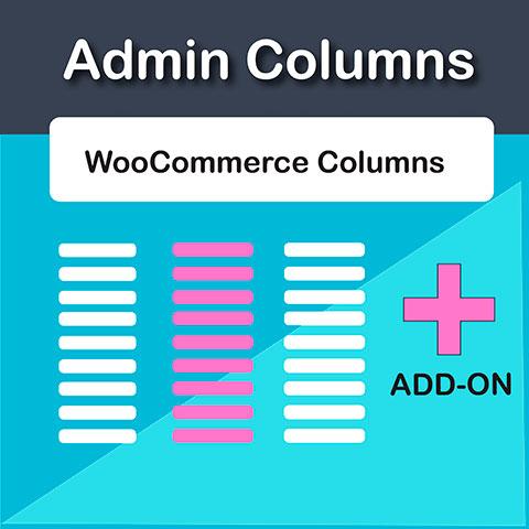 Admin Columns Pro WooCommerce Add-On