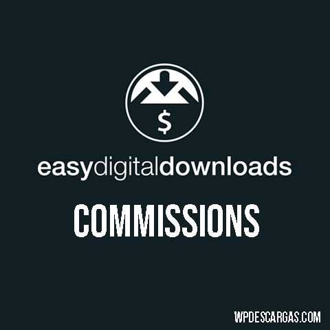 Easy Digital Downloads Commissions