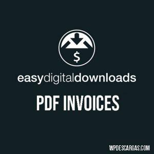 Easy Digital Downloads PDF Invoices