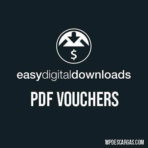 Easy Digital Downloads - PDF Vouchers