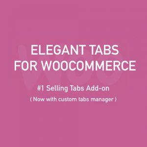 Elegant Tabs for WooCommerce