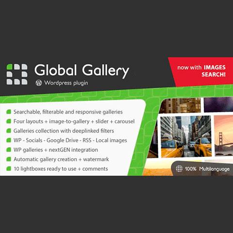 Global Gallery Wordpress Responsive Gallery