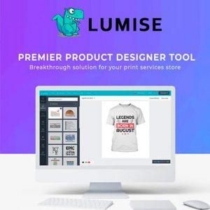 Lumise Product Designer Tool