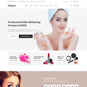 Makali - Cosmetics Beauty Theme for WooCommerce
