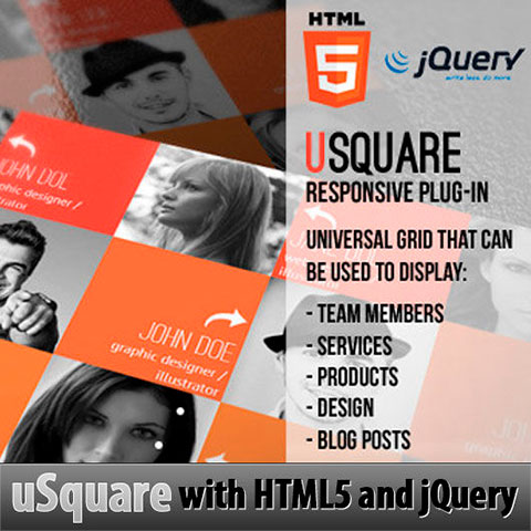 uSquare - Universal Responsive WordPress Grid