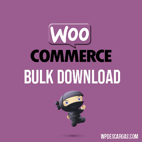 WooCommerce Bulk Download