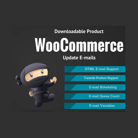 WooCommerce Downloadable Product Update E-mails