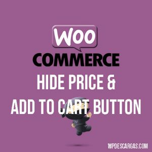 Hide price & add to cart button
