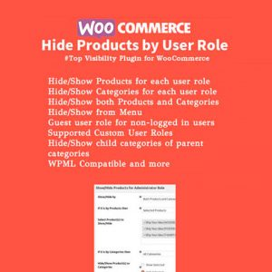 WooCommerce Hide Products