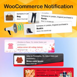 WooCommerce Notification Premium