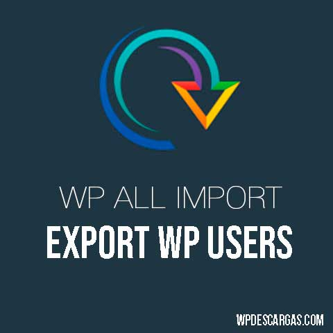 WP All Export WordPress Users Add-On