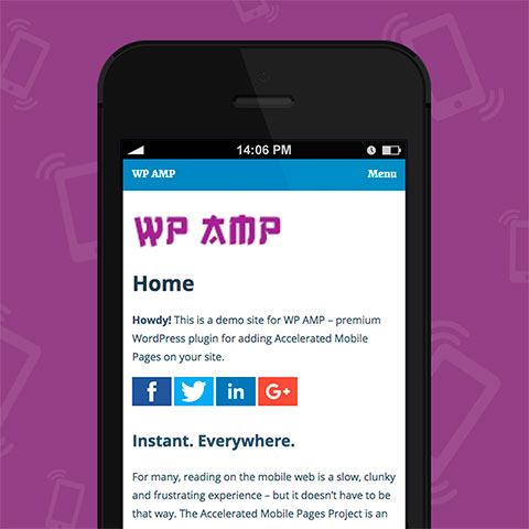 WP AMP - Accelerated Mobile Pages for WordPress and WooCommerce