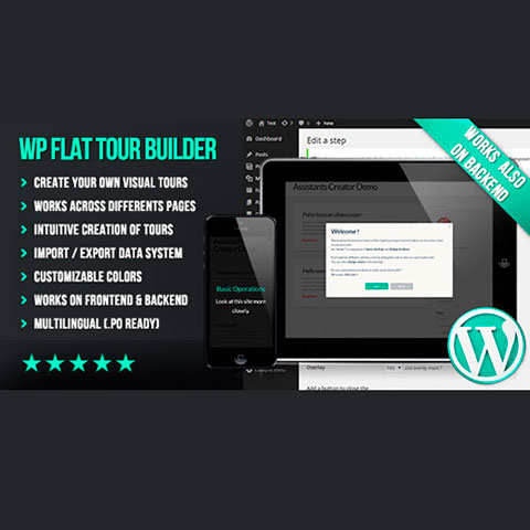 WP Flat Tour Builder