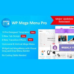 WP Mega Menu Pro