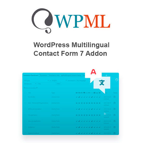 Contact Form 7 Multilingual WPML addon
