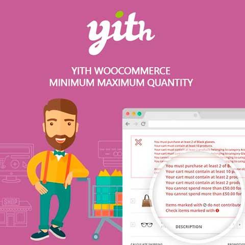 YITH WooCommerce Minimum Maximum Quantity Premium
