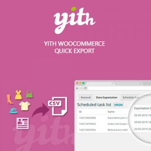 YITH WooCommerce Quick Export